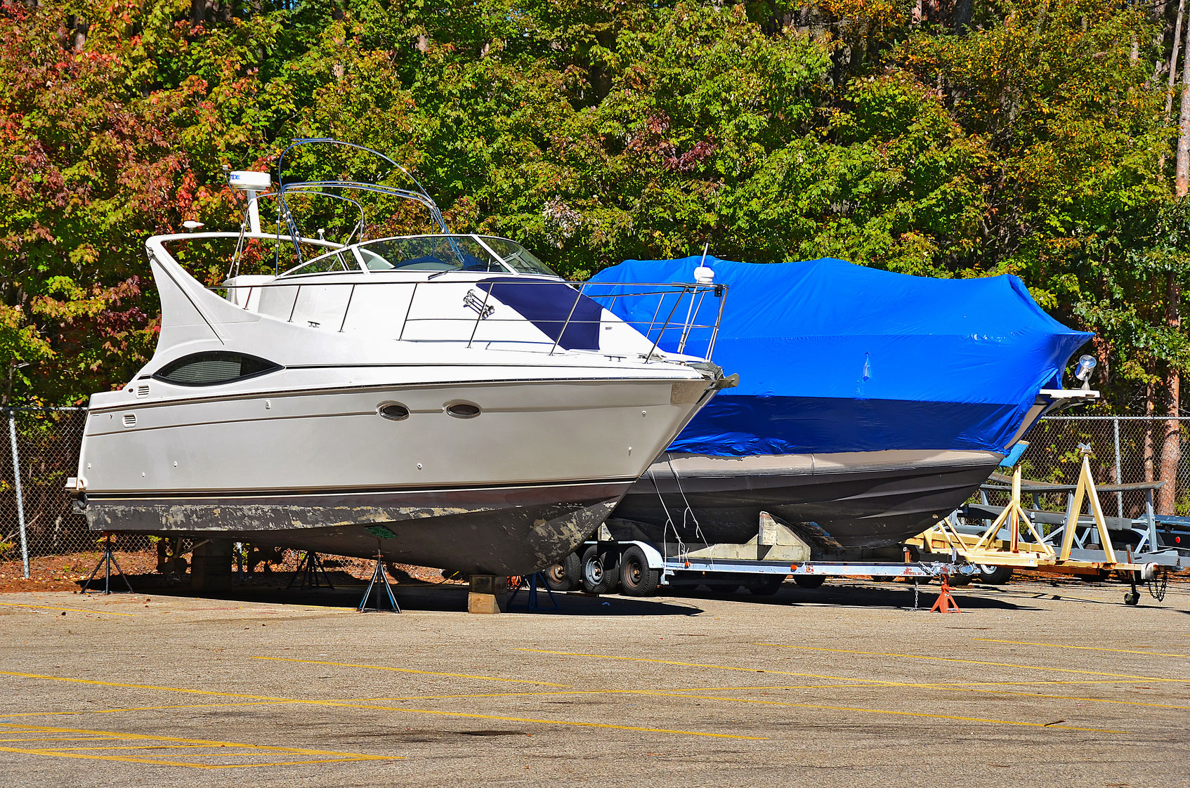 Safely Storing Your Boat for Winter