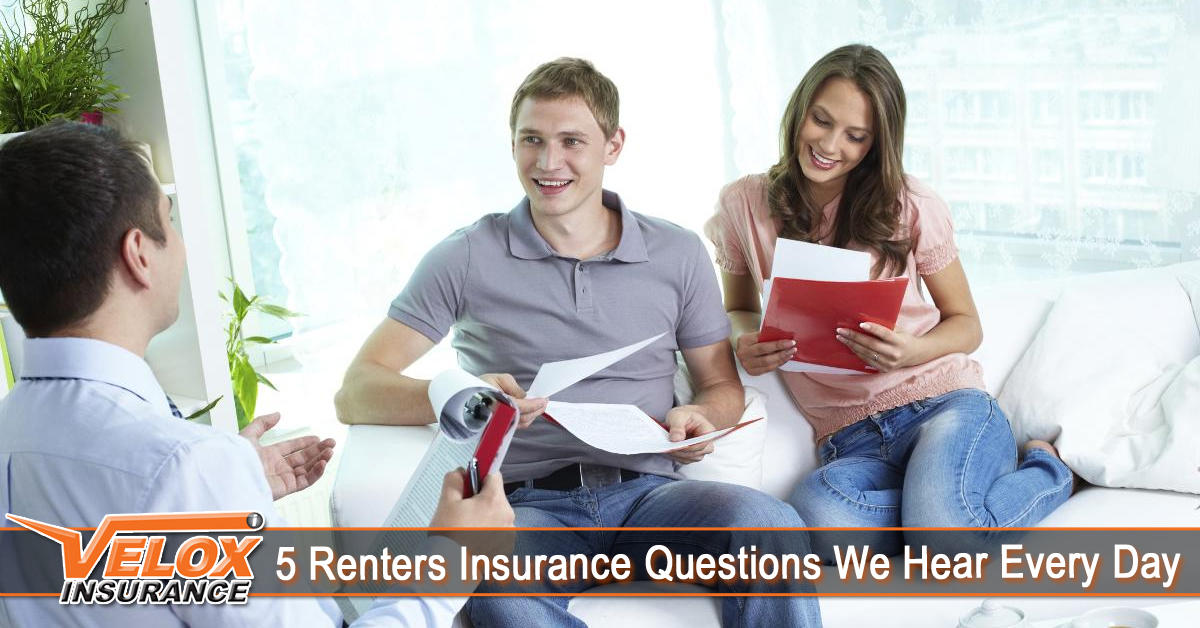 5 Renters Insurance Questions We Hear Every Day