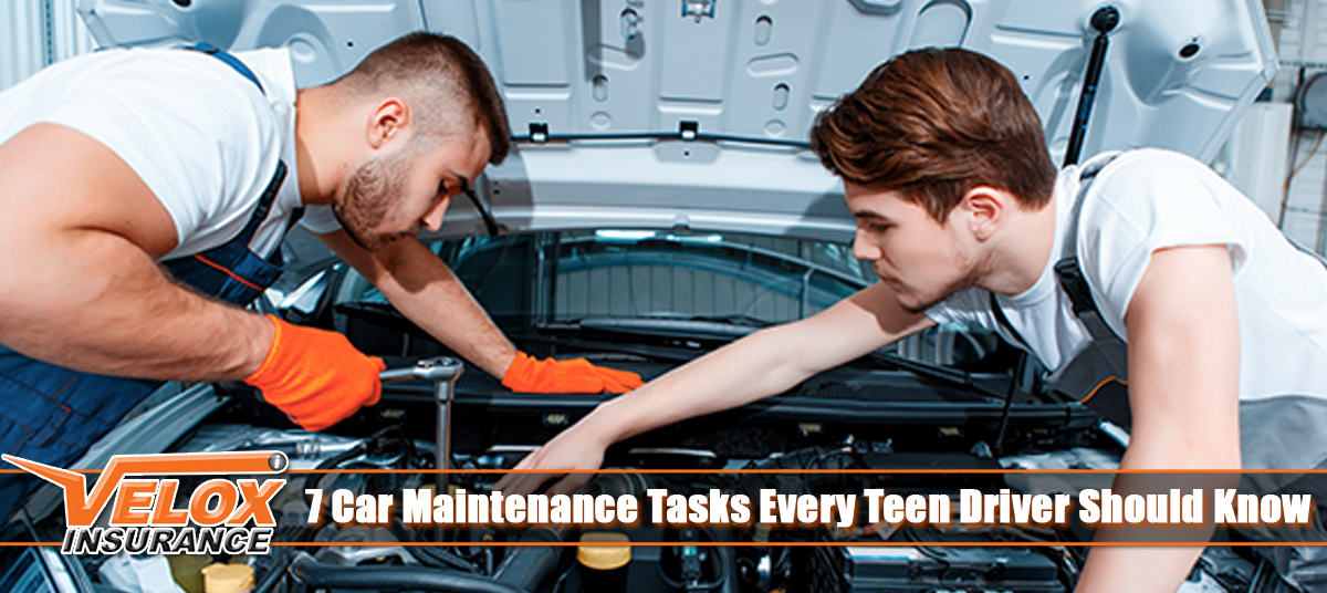 7 Car Maintenance Tasks Every Teen Driver Should Know