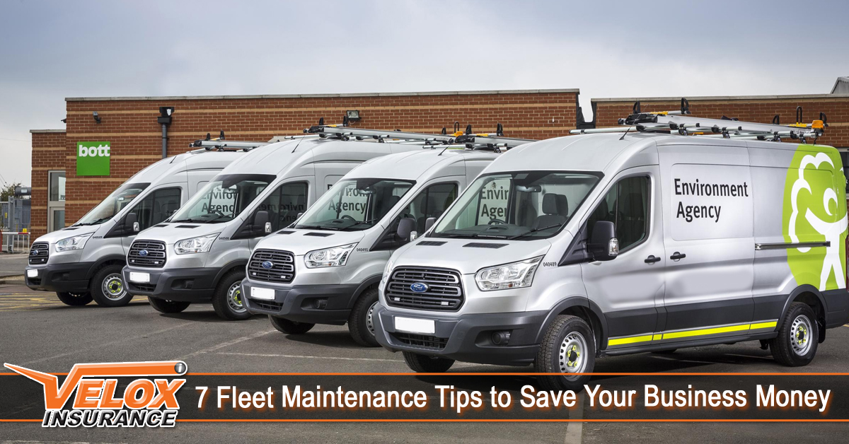 7 Fleet Maintenance Tips to Save Your Business Money