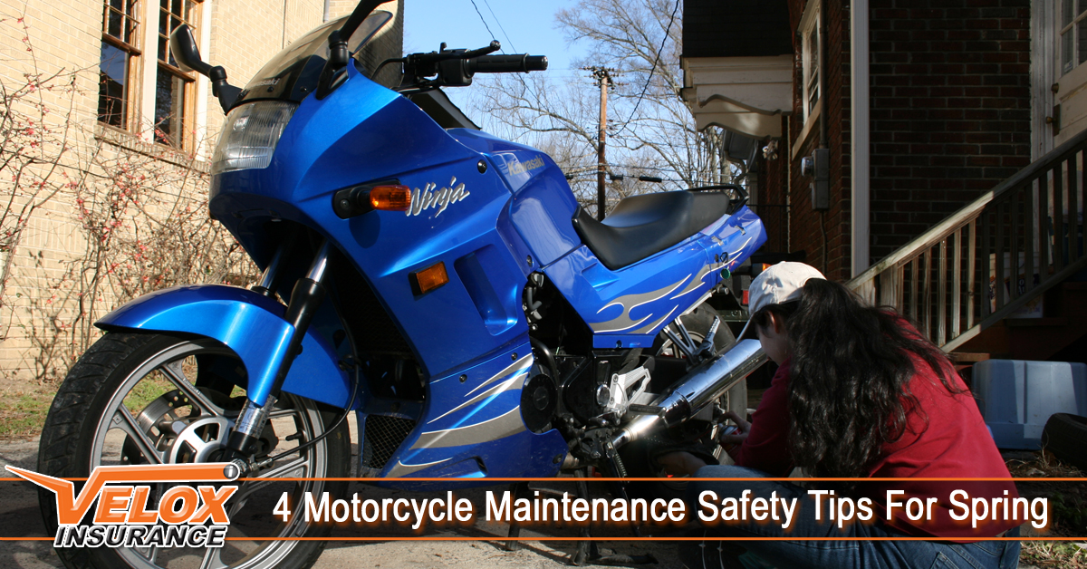 4 Motorcycle Maintenance Safety Tips For Spring