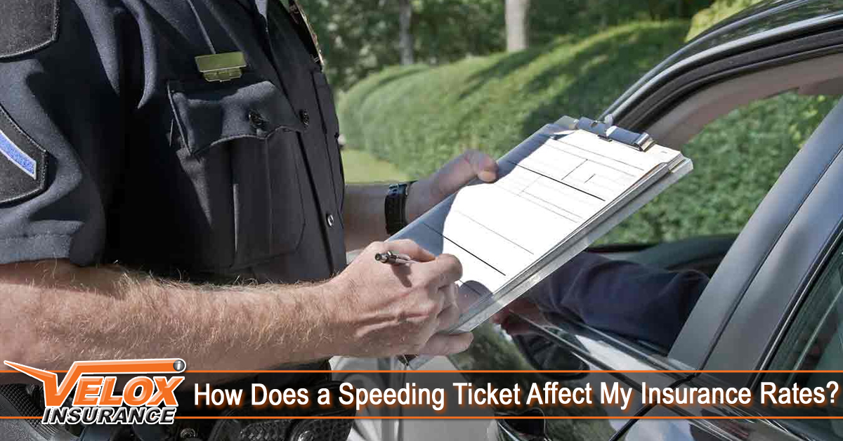 How Does a Speeding Ticket Affect My Insurance Rates?