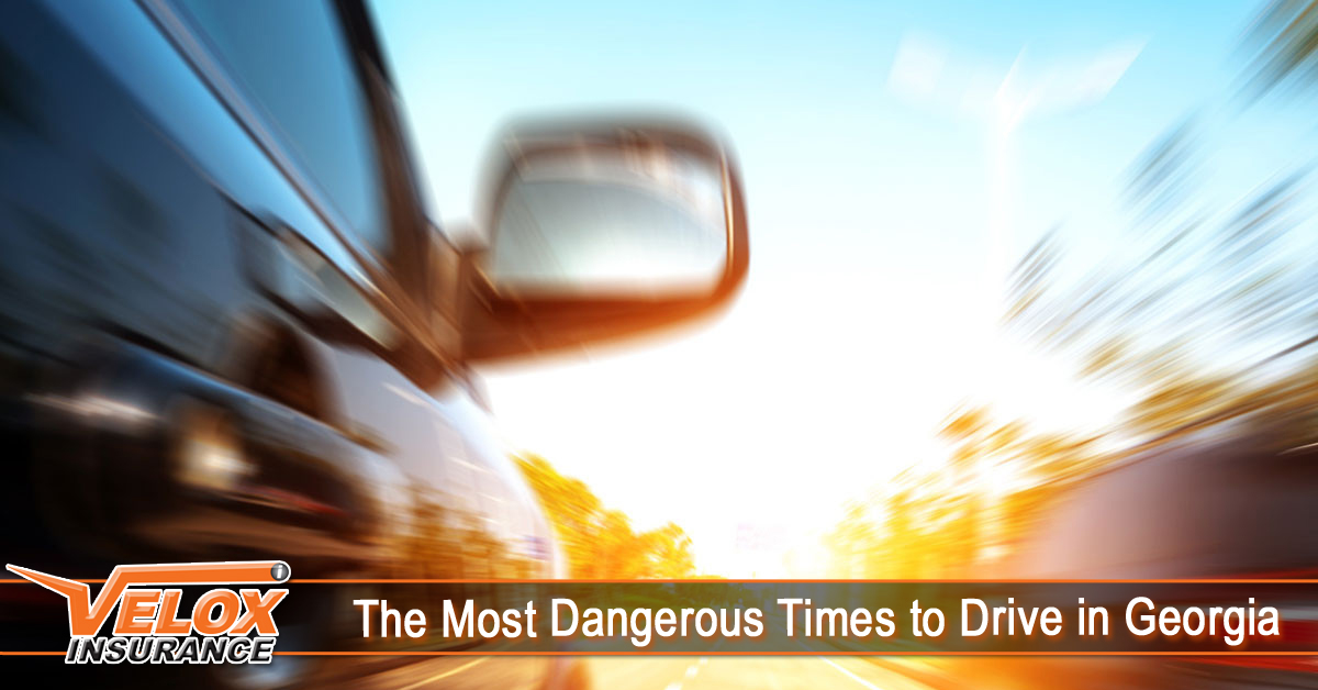 The Most Dangerous Times to Drive in Georgia