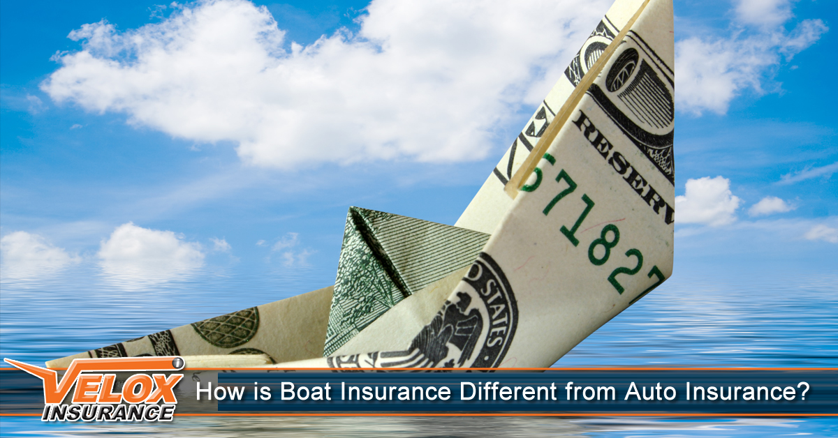 How is Boat Insurance Different From Car Insurance?