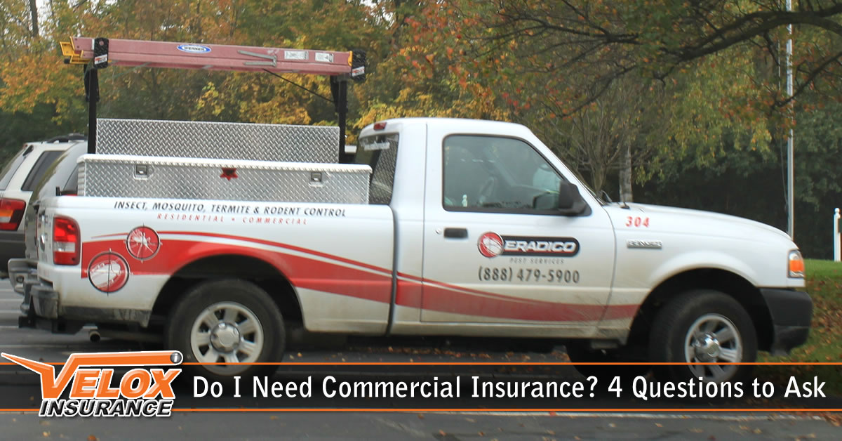 Do I Need Commercial Auto Insurance? 4 Questions to Ask