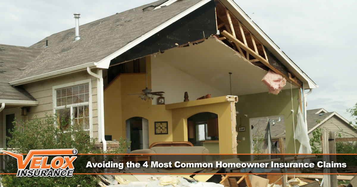 Avoiding the 4 Most Common Homeowner Insurance Claims