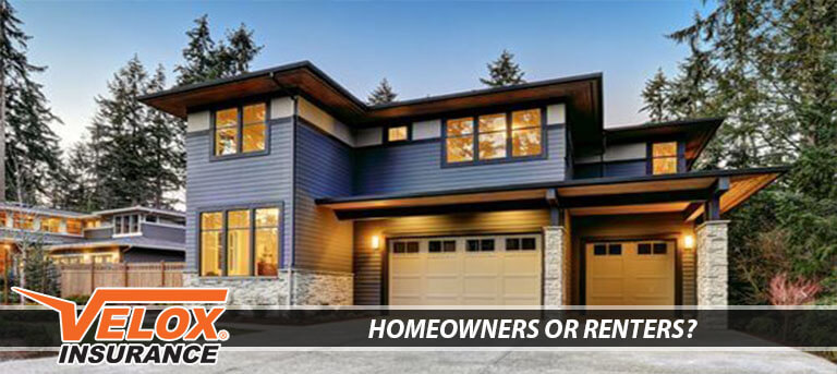 Homeowners or Renters insurance