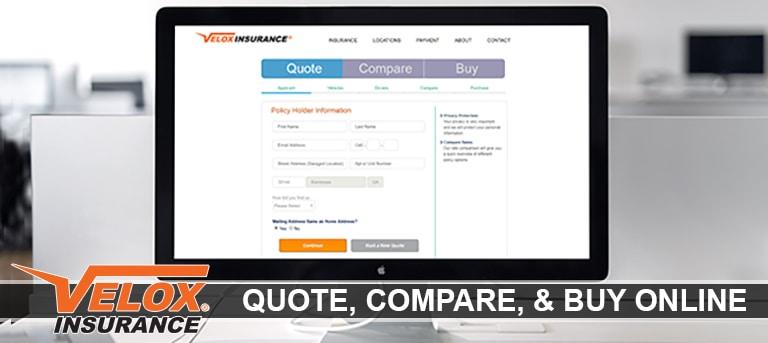 Velox Insurance: Compare and Get a quote online