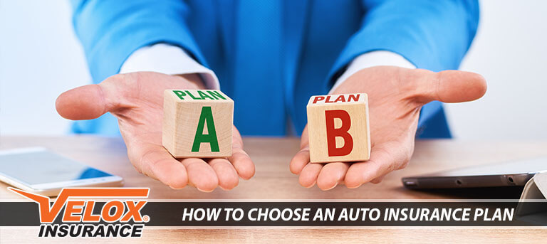 choosing an auto insurance plan