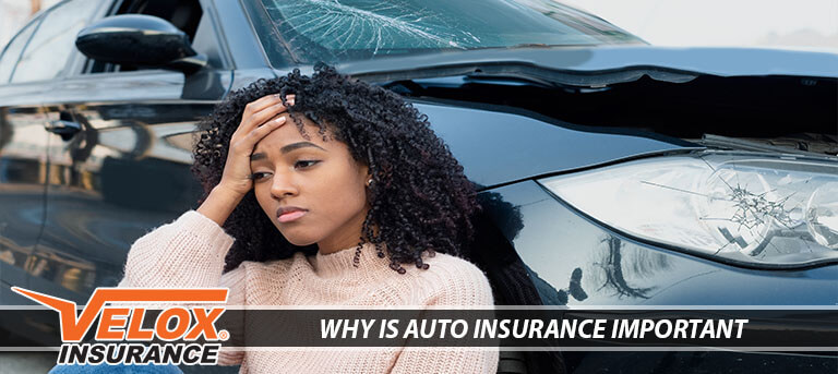 Woman worried about insurance after an auto accident