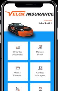 Velox Insurance app