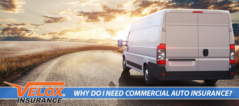 Cargo vans need commercial auto insurance
