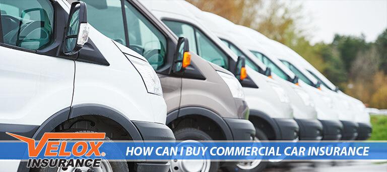 Fleet of commercial Vans